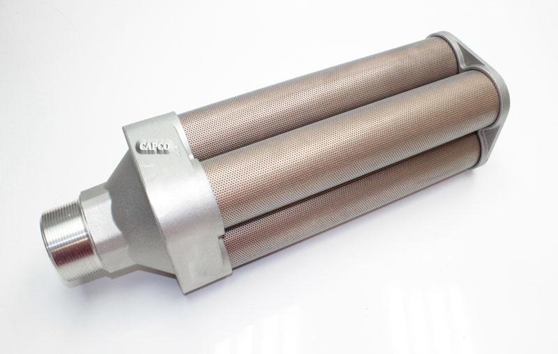 High Pressure Silencer : Quot npt high pressure muffler silencer